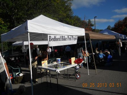 Bedford Bike and Pedestrian Project Table